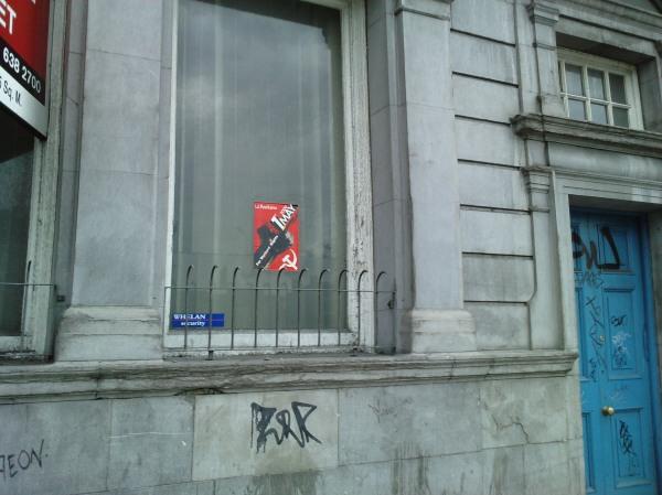 Komunistinė simbolika Dubline