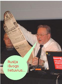 Vytautas Landsbergis skelbia naują Rusijo pavojų: Rusija dabar galinti išvogti lietuvius