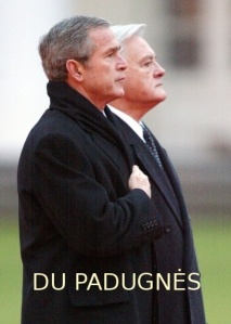 Du padugnės - Bušas ir Adamkus