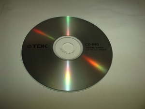 TDK kompaktinis diskas