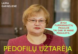 Teisėja ir Jono Furmanavičiaus kolegė Laima Garneliene