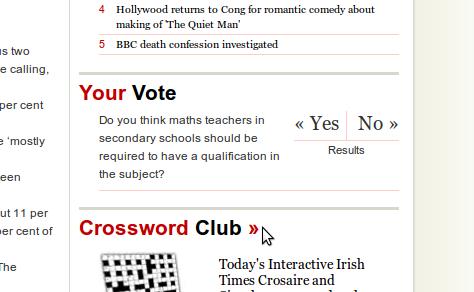"""Klausimas iš """"Irish Times"""" tinklalapio"""