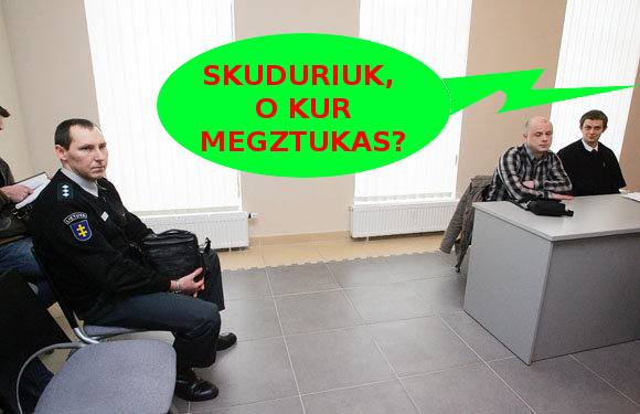 Megztuko agentas Skuduriukas