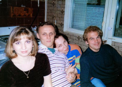 Julia, Nikolajus, Katia ir aš