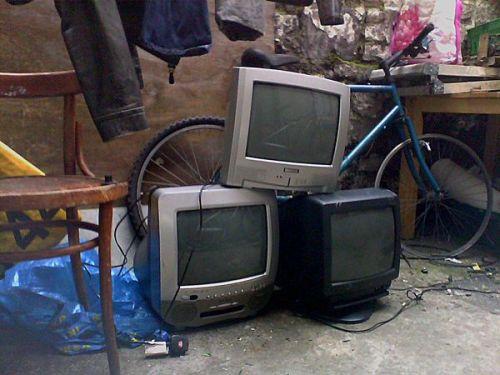 Parduodami televizoriai